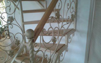 Кованые лестницы КЛ-01