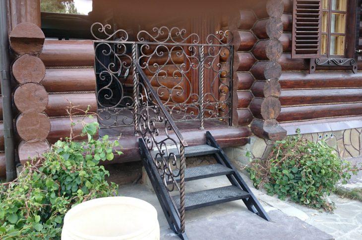 Кованые лестницы КЛ-03