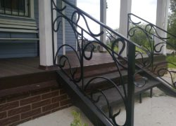 Кованые лестницы КЛ-04