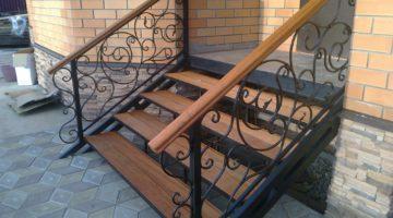 Кованые лестницы КЛ-05