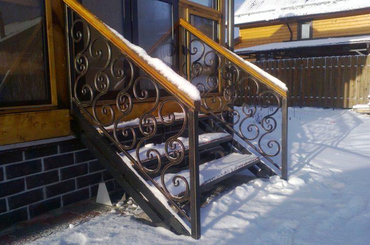 Кованые лестницы КЛ-06