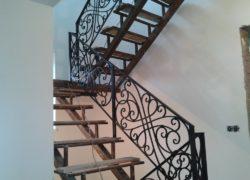 Кованые лестницы КЛ-07