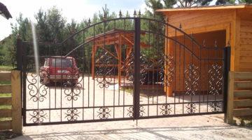 Кованые ворота КВ-01