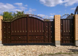 Кованые ворота КВ-14