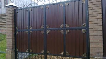 Кованые ворота КВ-15