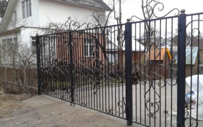 Кованые ворота КВ-16