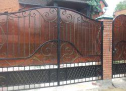 Кованые ворота КВ-19