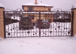 Кованые ворота КВ-02