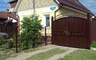 Кованые ворота КВ-20