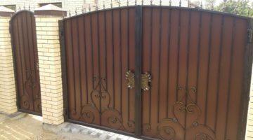 Кованые ворота КВ-03