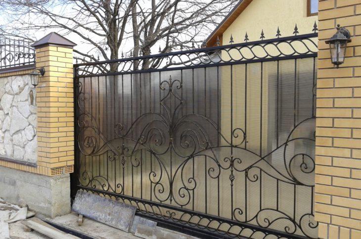 Кованые ворота КВ-04
