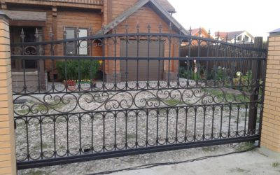 Кованые ворота КВ-05
