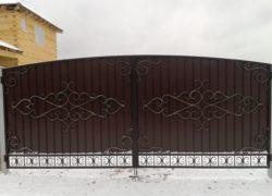 Кованые ворота КВ-06