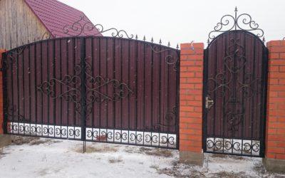 Кованые ворота КВ-07
