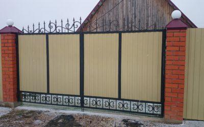 Кованые ворота КВ-08