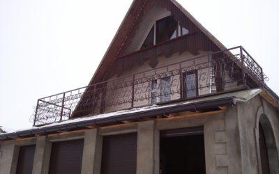 Кованый балкон КБ-03