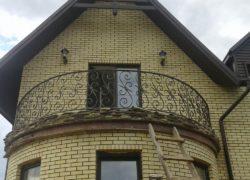 Кованый балкон КБ-04