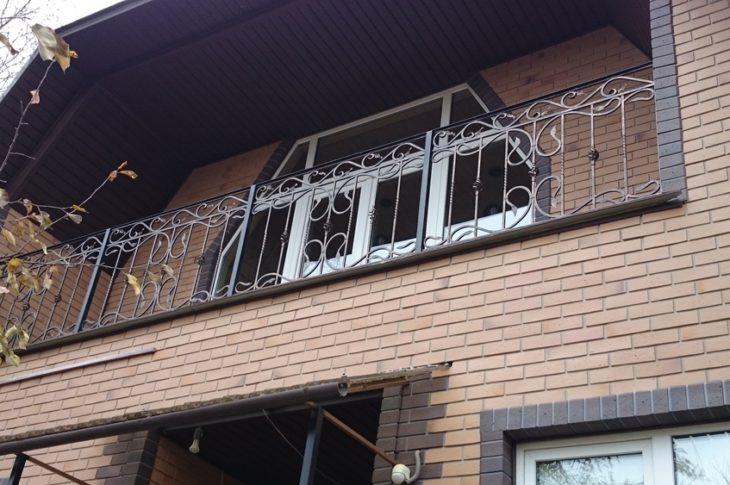 Кованый балкон КБ-05
