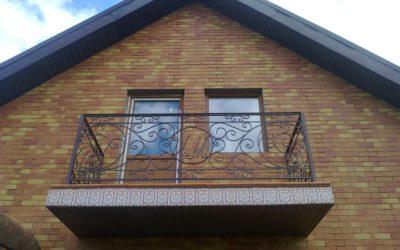 Кованый балкон КБ-06