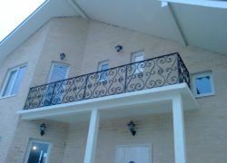Кованый балкон КБ-08