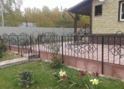 Кованый забор КЗ-02