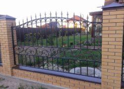 Кованый забор КЗ-04